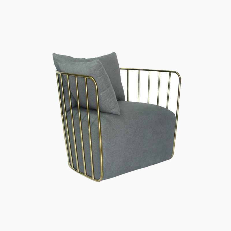 Bride's Veil Chair Replica in Cashmere FA338-1S-F