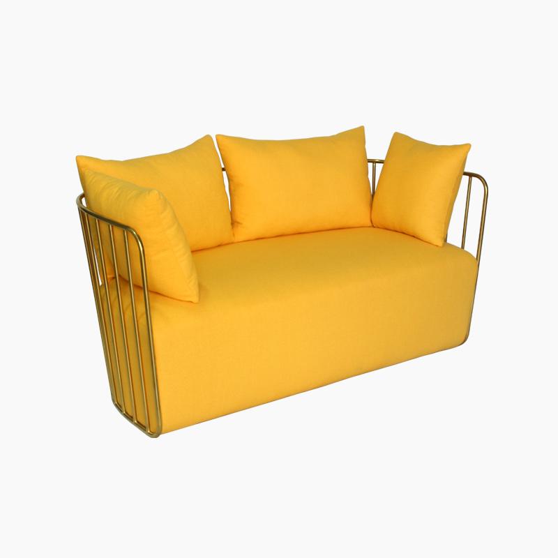 Bride's Veil Sofa Replica in Cashmere FA338-2S-F
