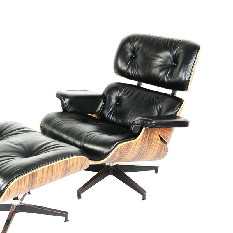 Eames Lounge Chair and ottoman Replica FA331-ANL in Premium Aniline Leather