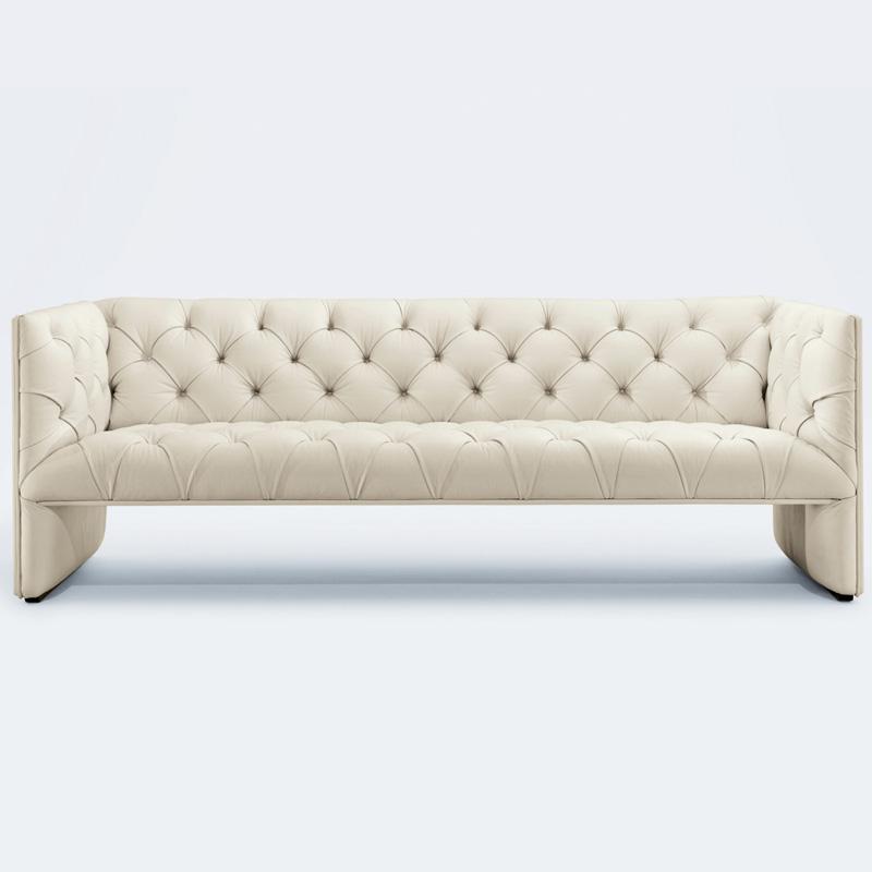 Edwards Sofa Premium Aniline leather FA172-3S-ANL