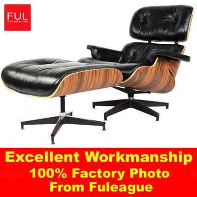 Eames Lounge Chair Italian Leather FA021-ITL