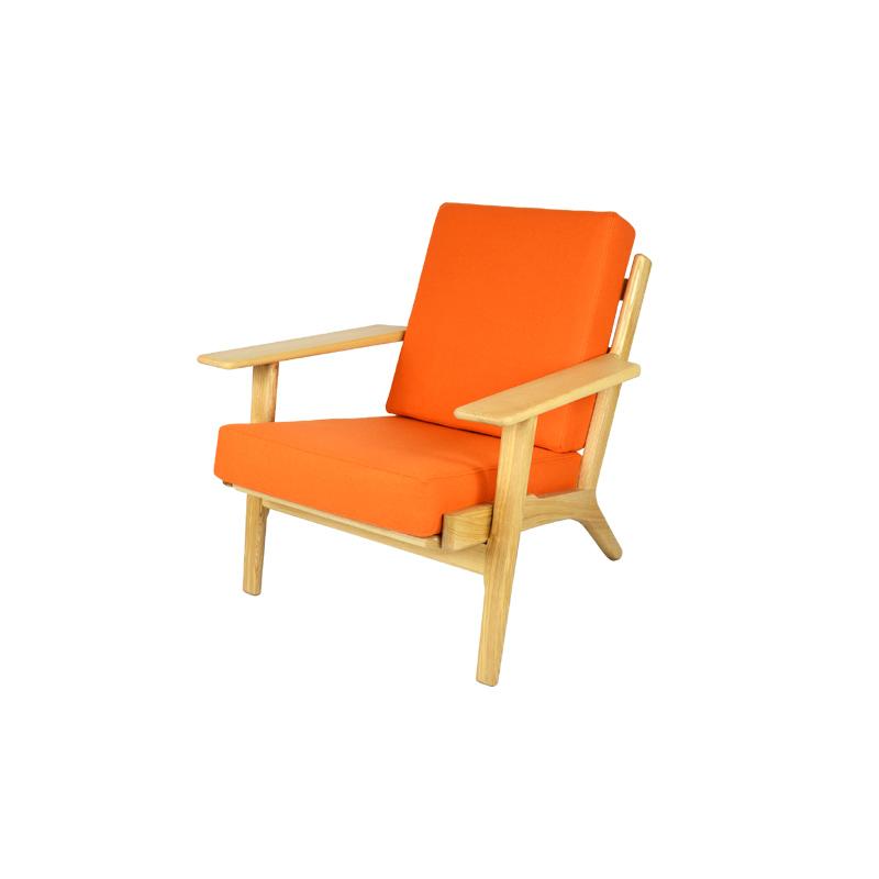 GE290 Chair Replica in Cashmere FA071-1S-CM