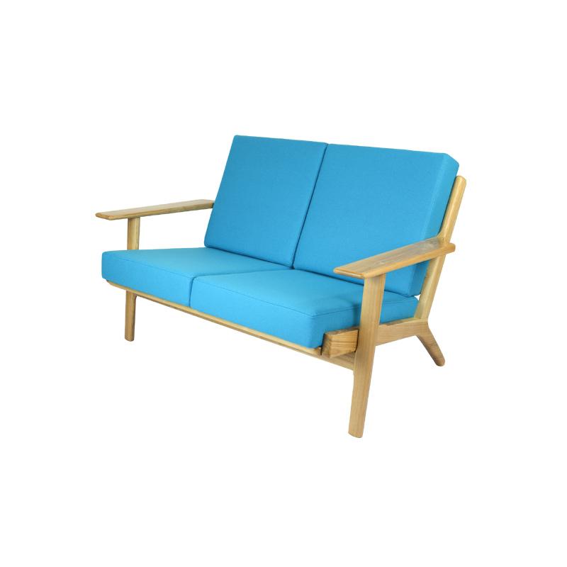 Hans Wegner GE290 Sofa Replica in Cashmere FA071-2S-CM