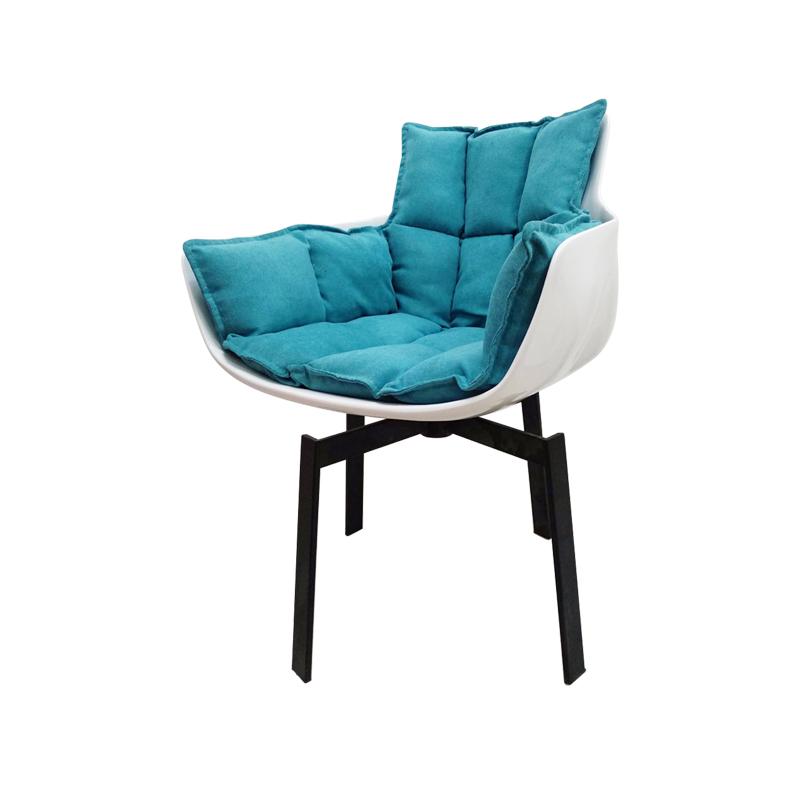 Husk Chair Replica in Cashmere FA332-CM