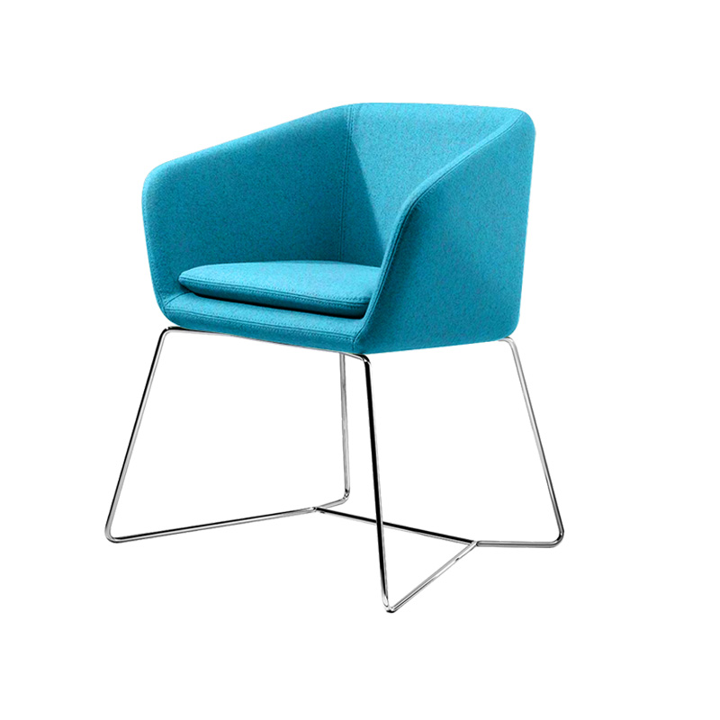 Little Mamy chair Cashmere fabric Upholstery FA227-1S