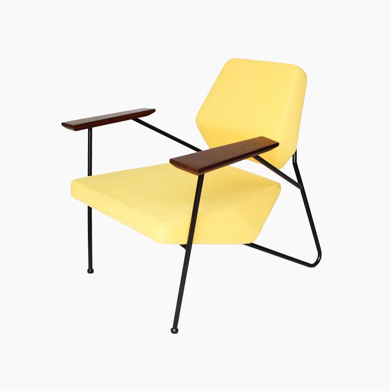 Polygon Chair Replica in Fabric FA173-F