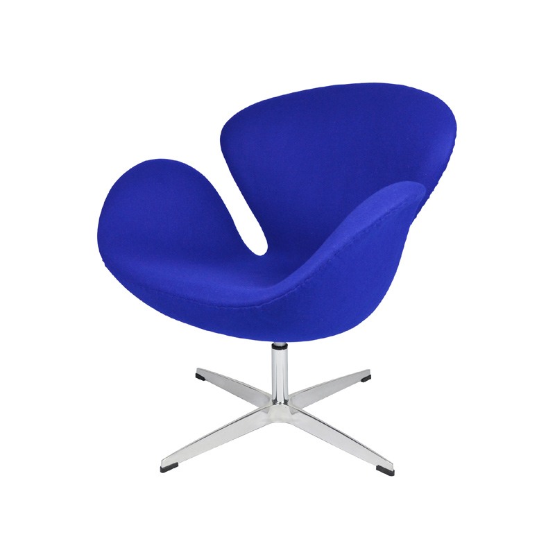 title='Swan Chair in Cashmere Fabric FA035-F'