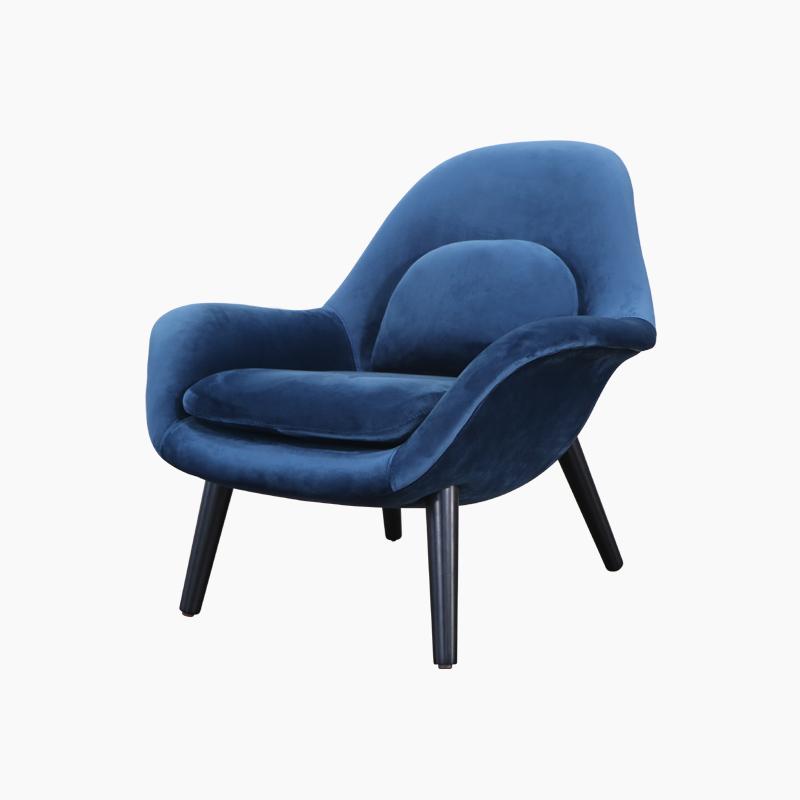 Swoon Lounge Chair Replica in Fabric FA343-F