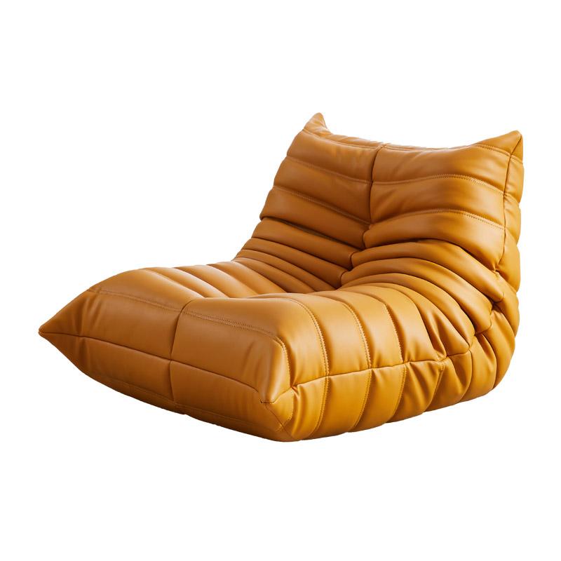 Togo fireside lounge chair in PU leather FA233-PU