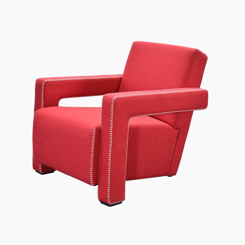 Utrecht Chair Replica in Cashmere FA333