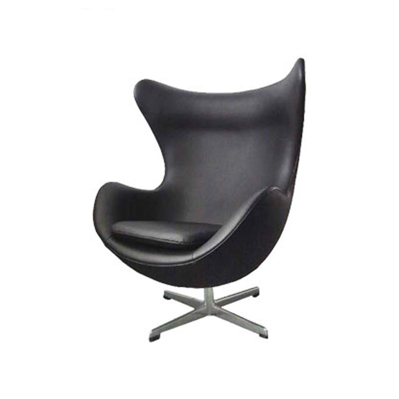 Leather Egg Chair Replica in Genuine Top Grain Leather FA034-ITL