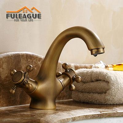 European Ancient Brushed Copper Faucet FKB003