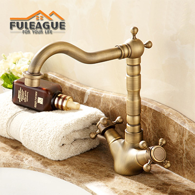 European Ancient Brushed Copper Faucet FKB004