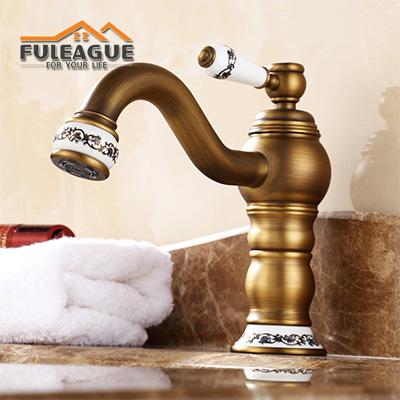 European Ancient Full Copper Faucet FKB005