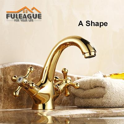 European Ancient Bright Copper Faucet FKB007