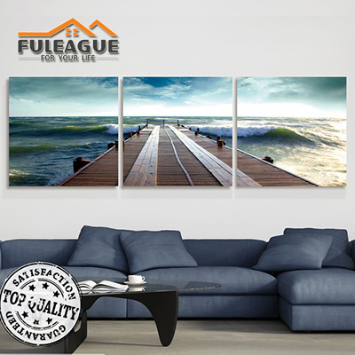 Terminal Seaview Frameless Painting 1 SET FPP003