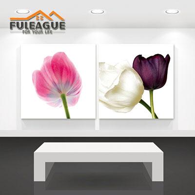 Tulip Flower Frameless Painting 1 SET FPP007