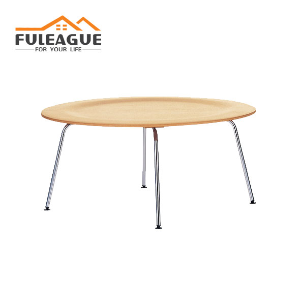 Eames Coffee Table with Steel Base FT007-ST
