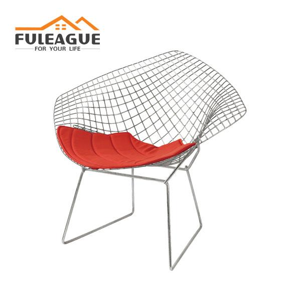 Wire Diamond Chair FXW002