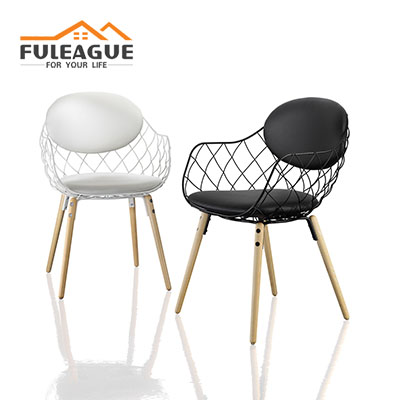 Pina Chair by Jaime Hayon Faux PU Leather FXD035-PU