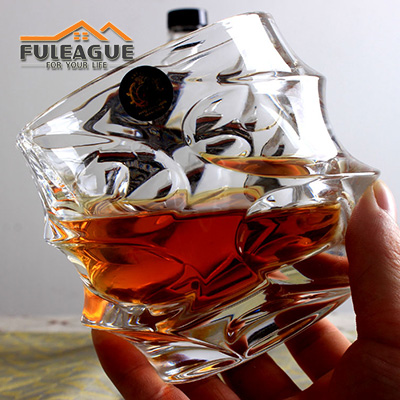 Lead-free Glass Whisky Wine Cup FWC003