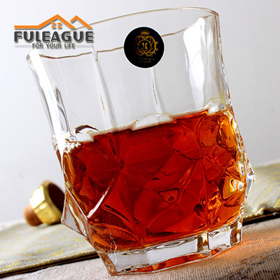 Lead-free Glass Whisky Wine Cup FWC005
