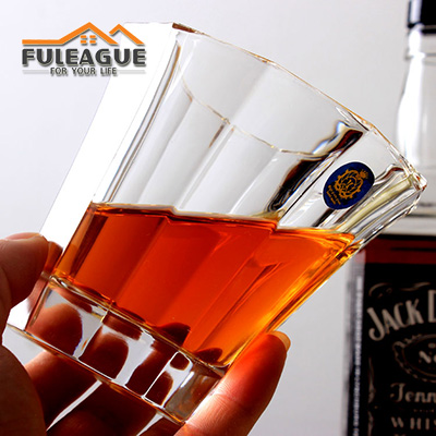 Lead-free Glass Whisky Wine Cup FWC006