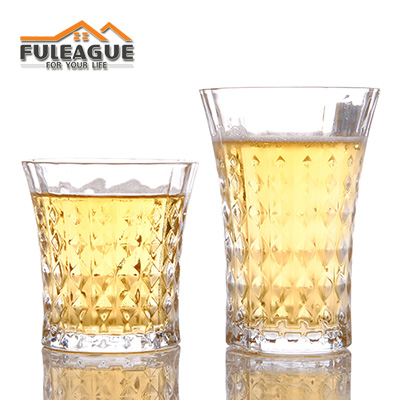 Lead-free Glass Beer Wine Cup 6PCS/SET FWC008