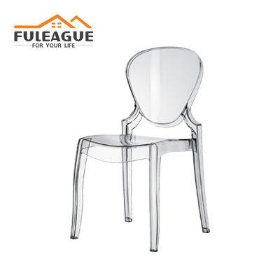 Queen Plastic Dining Chair FXP055